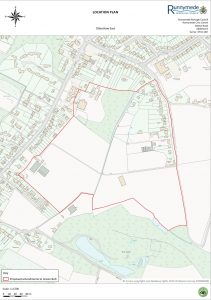 Ottershaw East Map